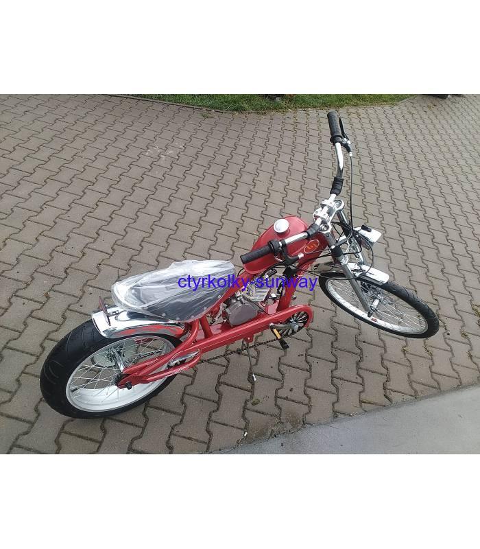 d0a7ae2887d Motokolo motorové kolo Chopper 80cc black