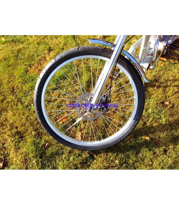 2890fc3be35 Motokolo motorové kolo Chopper 50cc black
