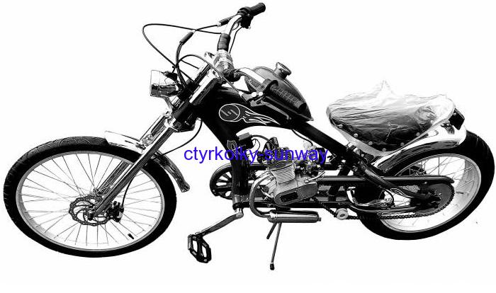 Motokolo Chopper 50cc black