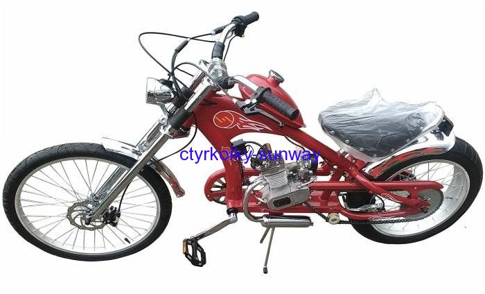 Motokolo Chopper 49cc red