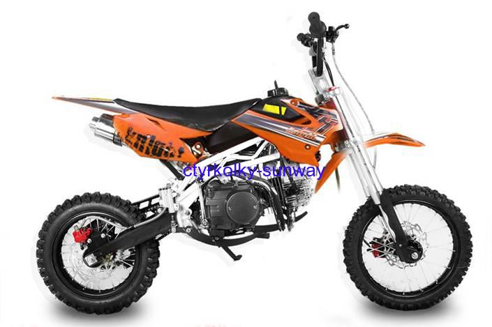 Pitbike Sky 14/12, 125cc orange