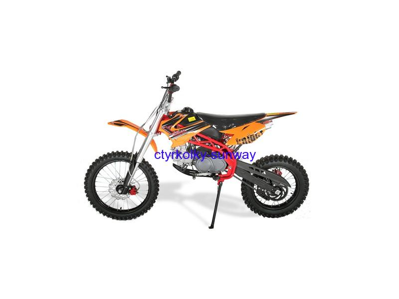 Pitbike Sky 17/14, 125cc orange