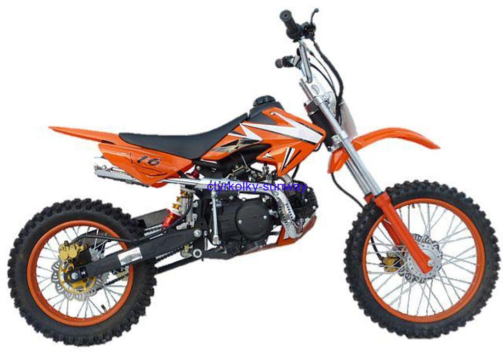 Pitbike 17/14 Loncin 125cc orange