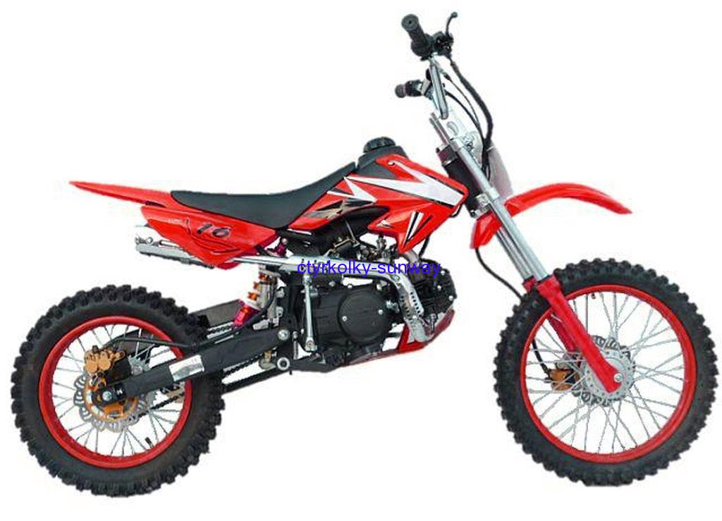 Pitbike 17/14 Loncin 125cc red