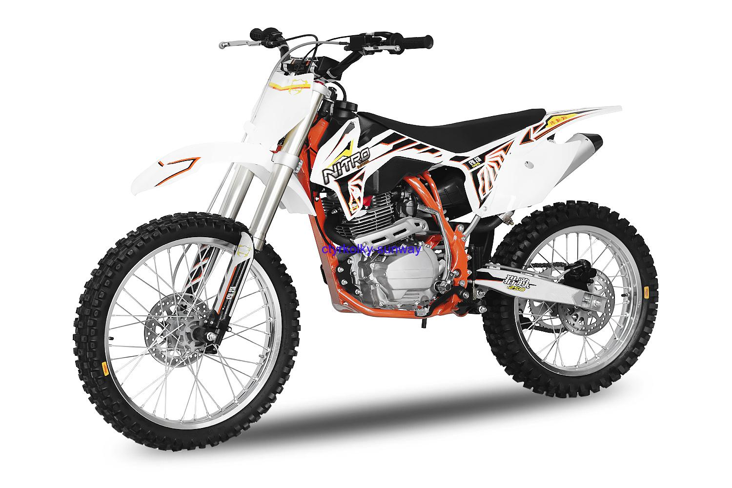 Pitbike Tornado 21/18  250cc orange