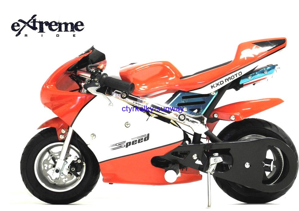 Minibike 49cc Speed red