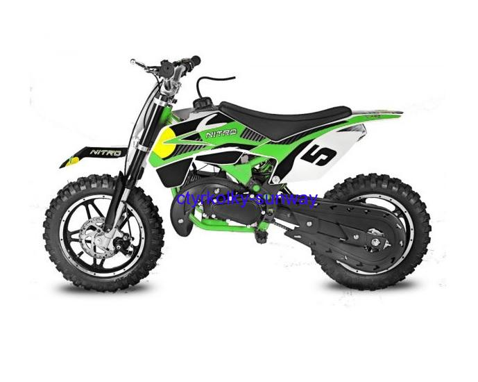 Minicross 49cc Rebel Bull green