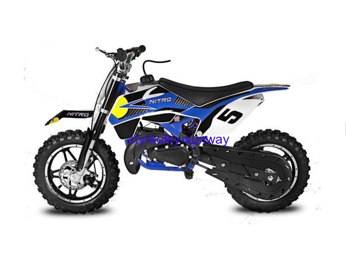 Minicross 49cc Rebel Bull blue