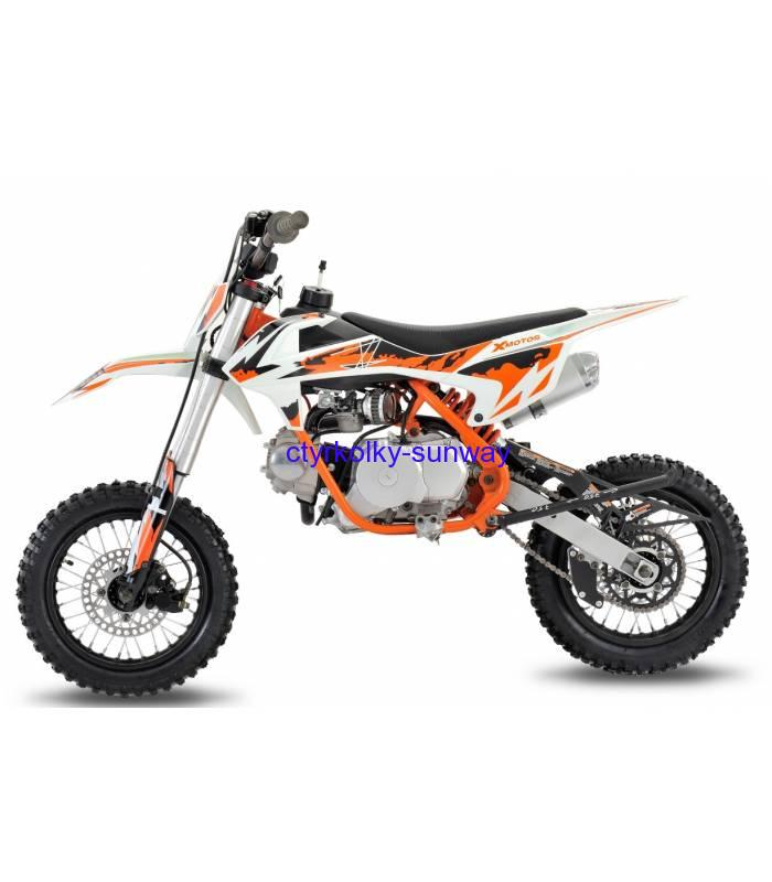 Pitbike XB27 90cc 12/10 automat orange