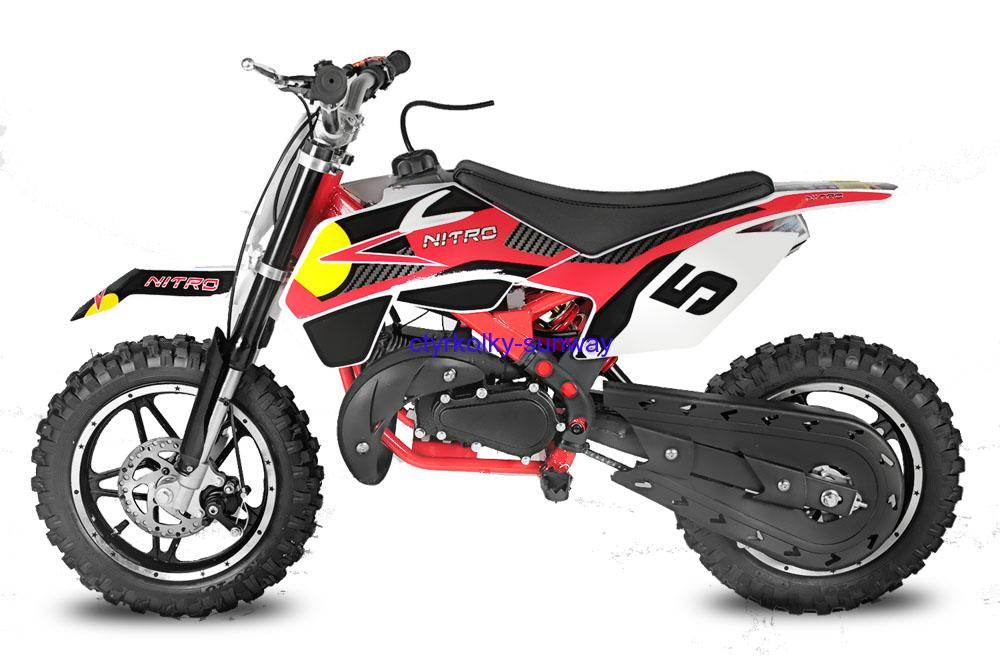 Minicross 49cc Rebel Bull red