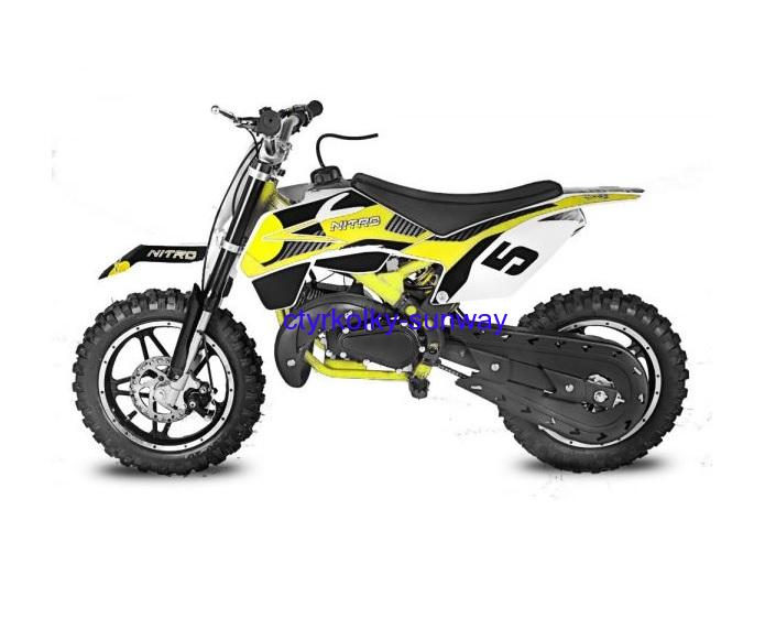 Minicross 49cc Rebel Bull yellow