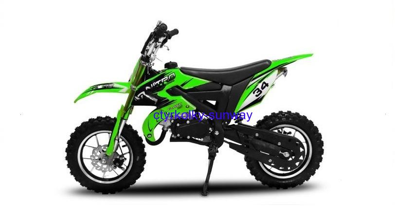 Minicross Flash 49cc green