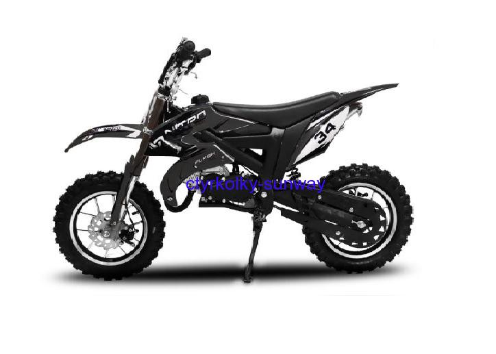 Minicross Flash 49cc black