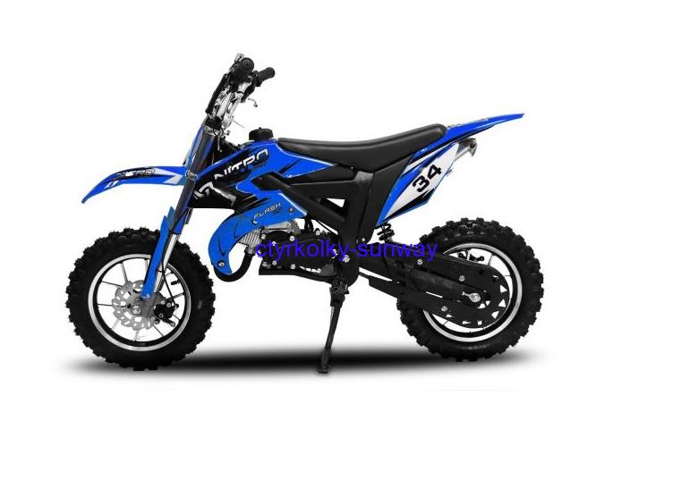 Minicross Flash 49cc blue