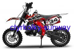 Minicross Flash 49cc red