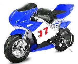 Minibike 49cc PS77 blue