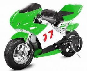 Minibike 49cc PS77 green