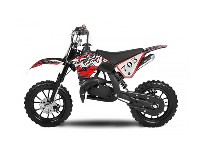 Minicross 49cc KTM style red