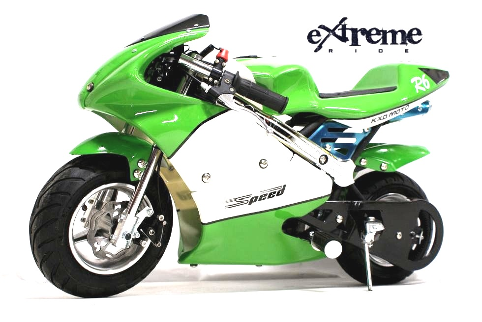 Minibike 49cc Speed green